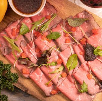≪お肉のじゅうたん♪≫自家製ローストビーフ