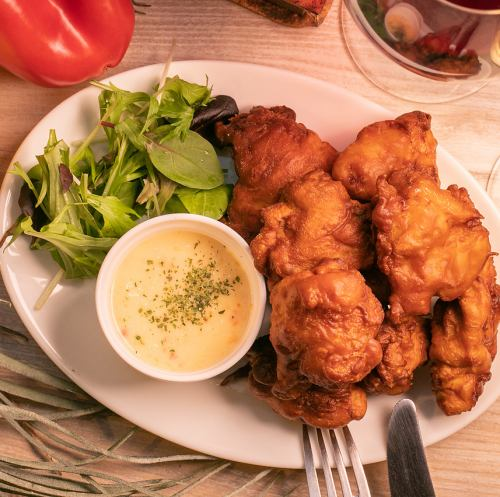 鶏の唐揚げ~スイートチリソース~
