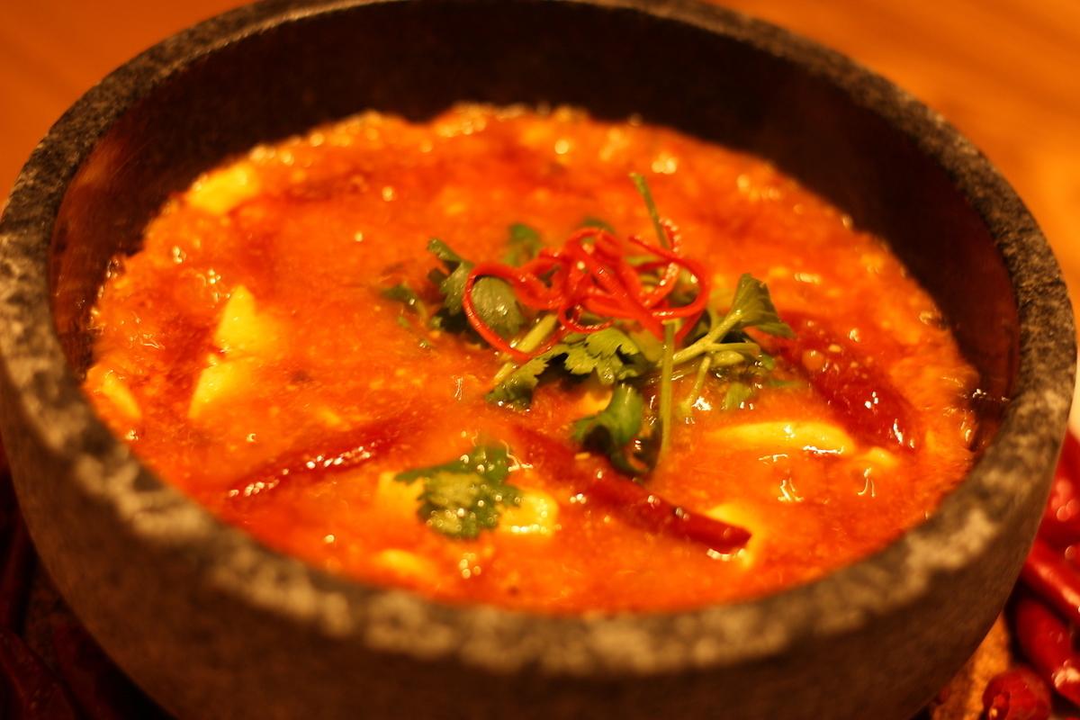 石烤热新加坡亚麻豆腐新加坡麻辣麻婆豆腐