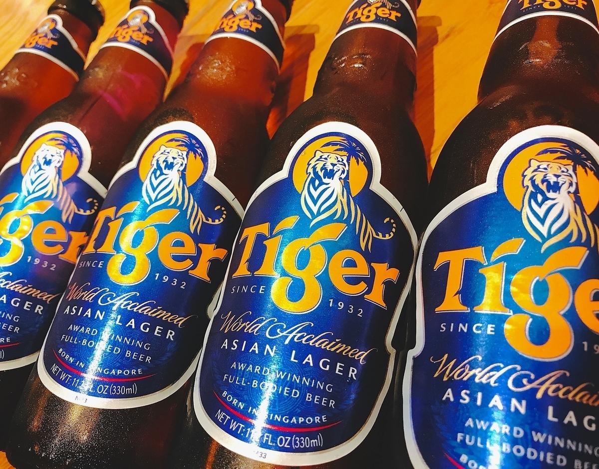 Tiger Beer 타이거 맥주 (병 맥주)