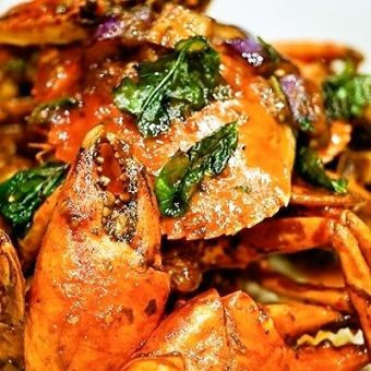 シンガポールペッパークラブ Singapore Pepper Crab