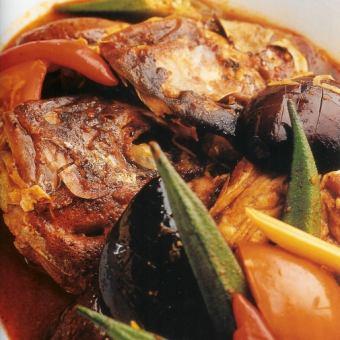 フィッシュヘッドカレー Curry Fish Head ※要予約