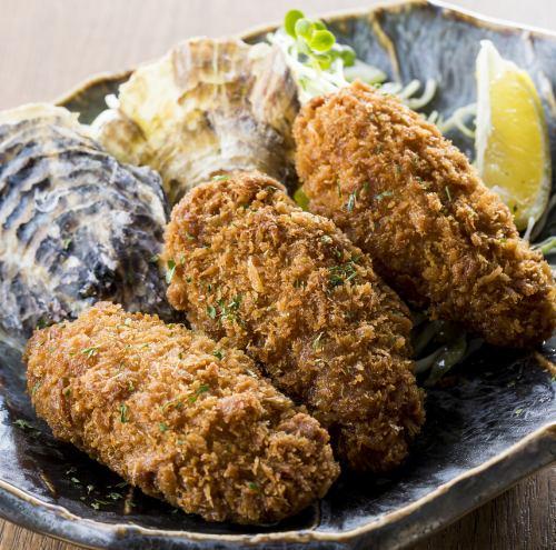 これが本物の牡蠣フライ(4個)