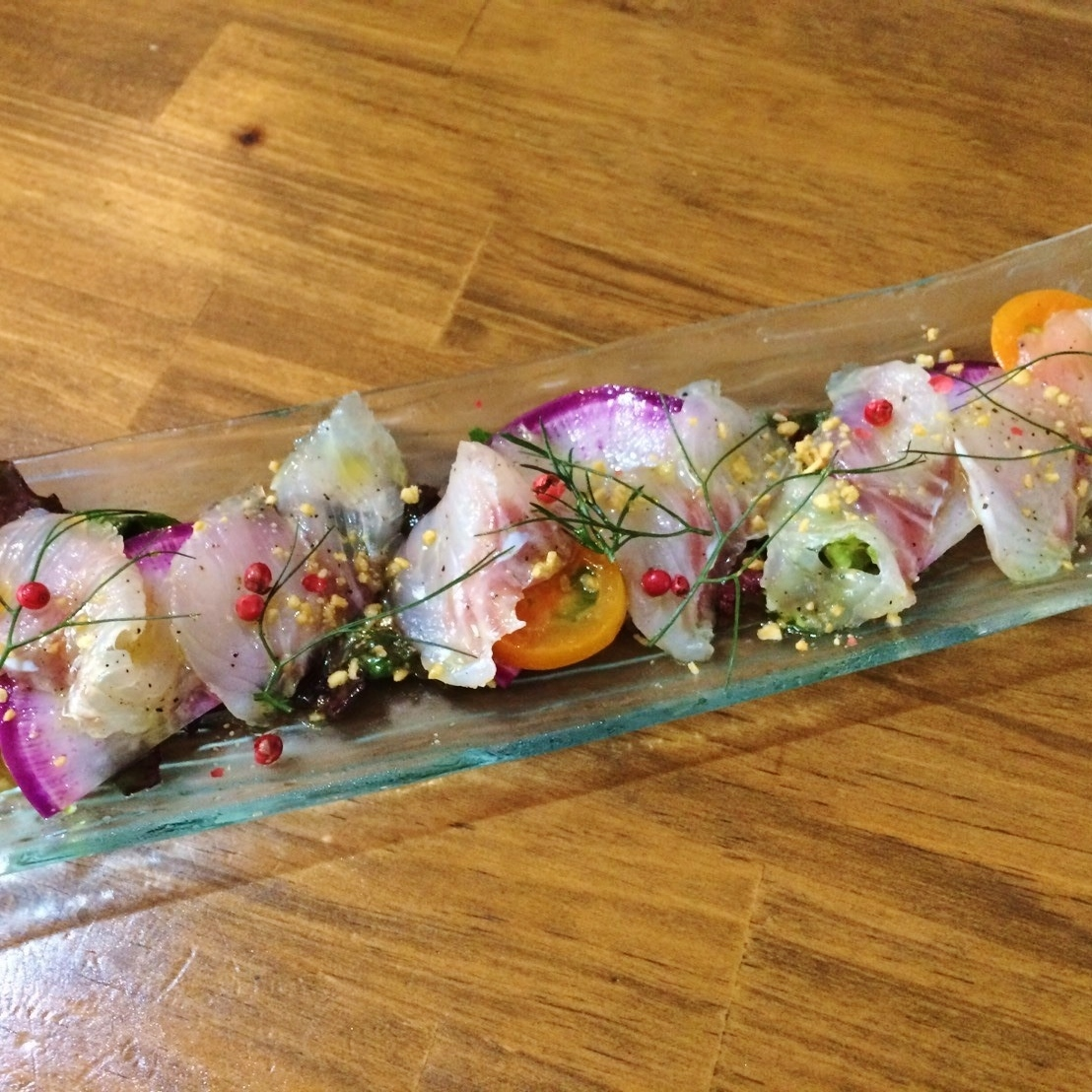 今天在骏河湾的新鲜生鱼片