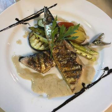 秋刀魚のグリル  ア