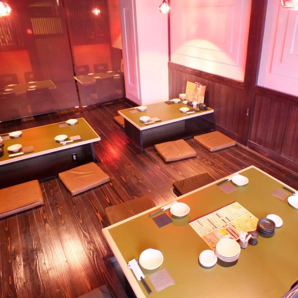 리고 타츠의 다다미 방은 최대 22 명에서 이용 OK!