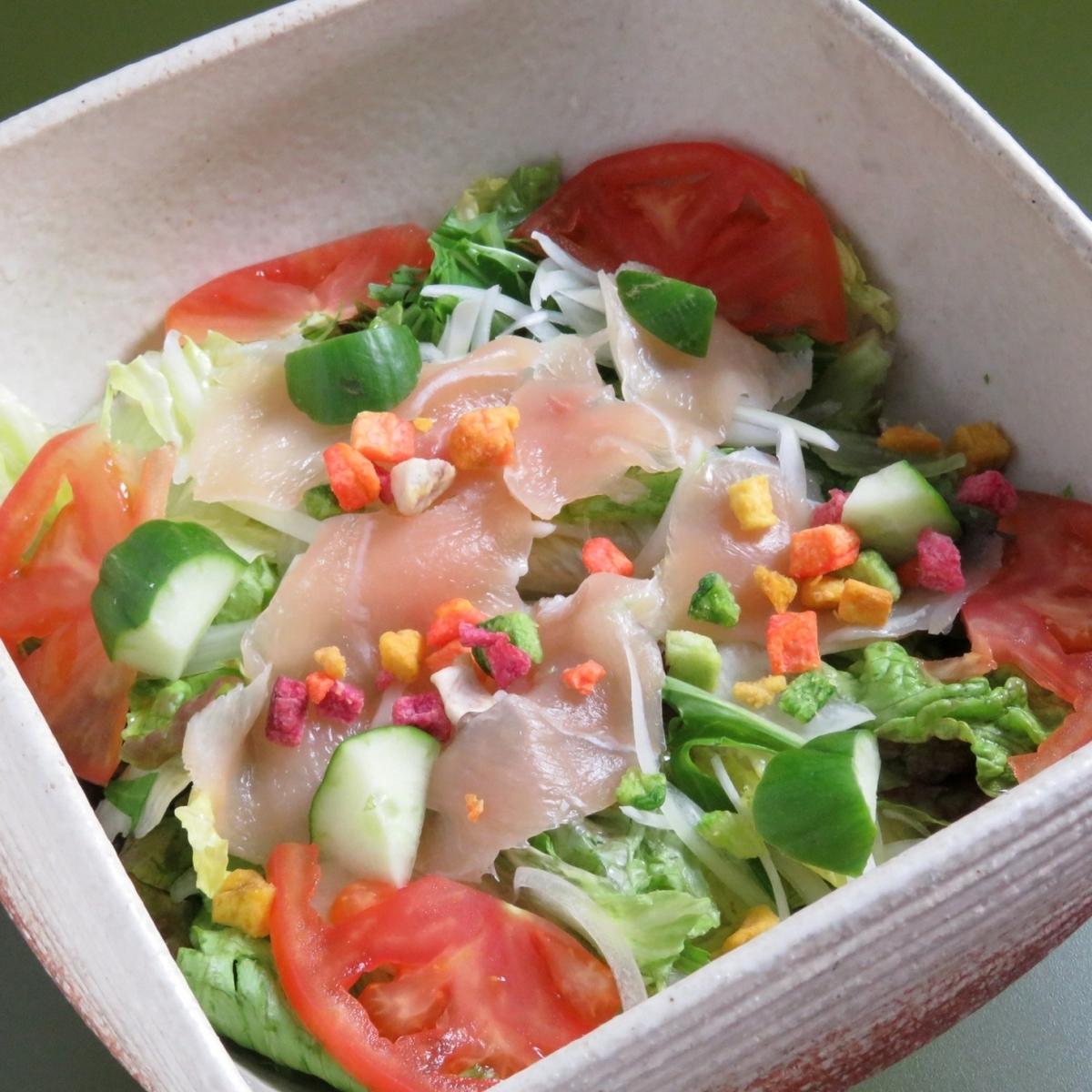 Hot Spring Egg Shampoo Caesar Salad