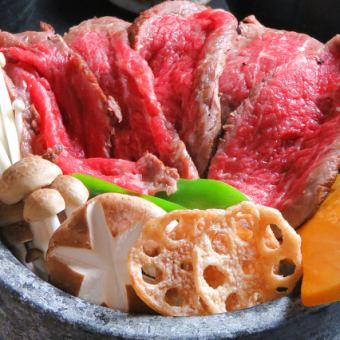 【Luxurious Choice to Choose! ~ Stone Grilled Wagyu Beef Broiled Ochazuke ~ Luxury Banquet Course】 8 dishes + 2 H with [drinking] 4500 → 4000 yen