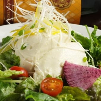 Tomorrow tofu and mixed green vegetable sesame salad (large / small) 【I am in the Rin course】