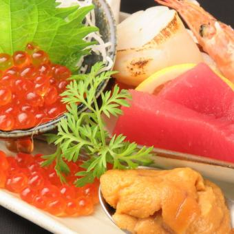 Fresh fresh fish platter (can you choose either in sashimi Carpaccio course available)