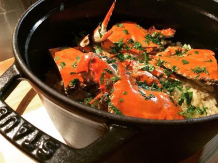 今天煮熟的燴飯
