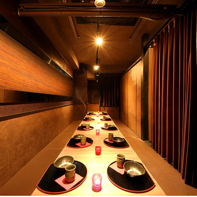 Private room with a door that you can relax relaxedly for 2 people ~ Groups OK!