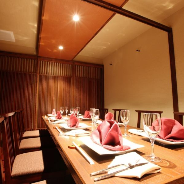 There is also a private room with tables with different taste from Osabara.