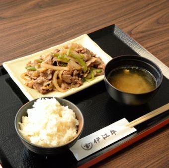伊江牛 焼肉定食