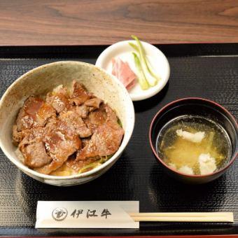 伊江牛 ステーキ丼定食