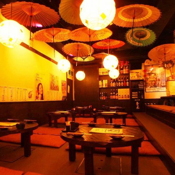 【完全貸切宴会25名~31名迄】京おばんざいに京都のお酒!仕事帰りのサク飲みにも、デートにも♪使い勝手は◎