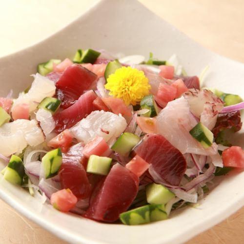厳選海鮮サラダ
