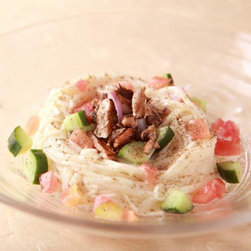 サラスパ風サラダ