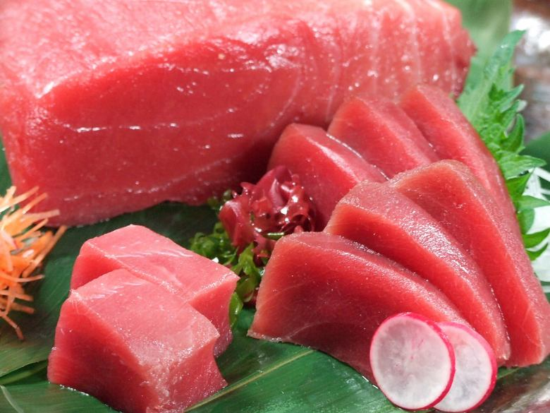 Raw book tuna