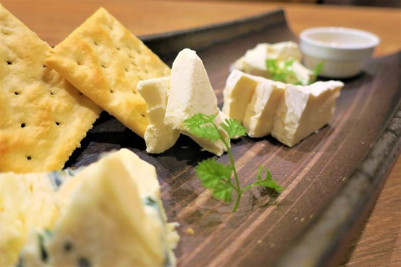 道内産チーズ盛り合わせ