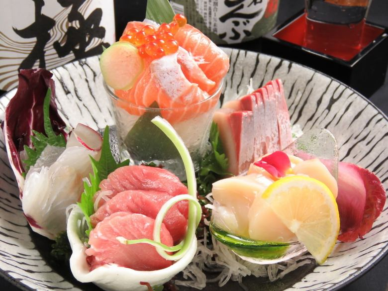 Assorted sashimi 5 points