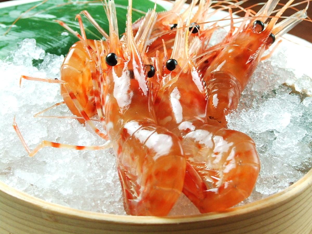 Activated button shrimp
