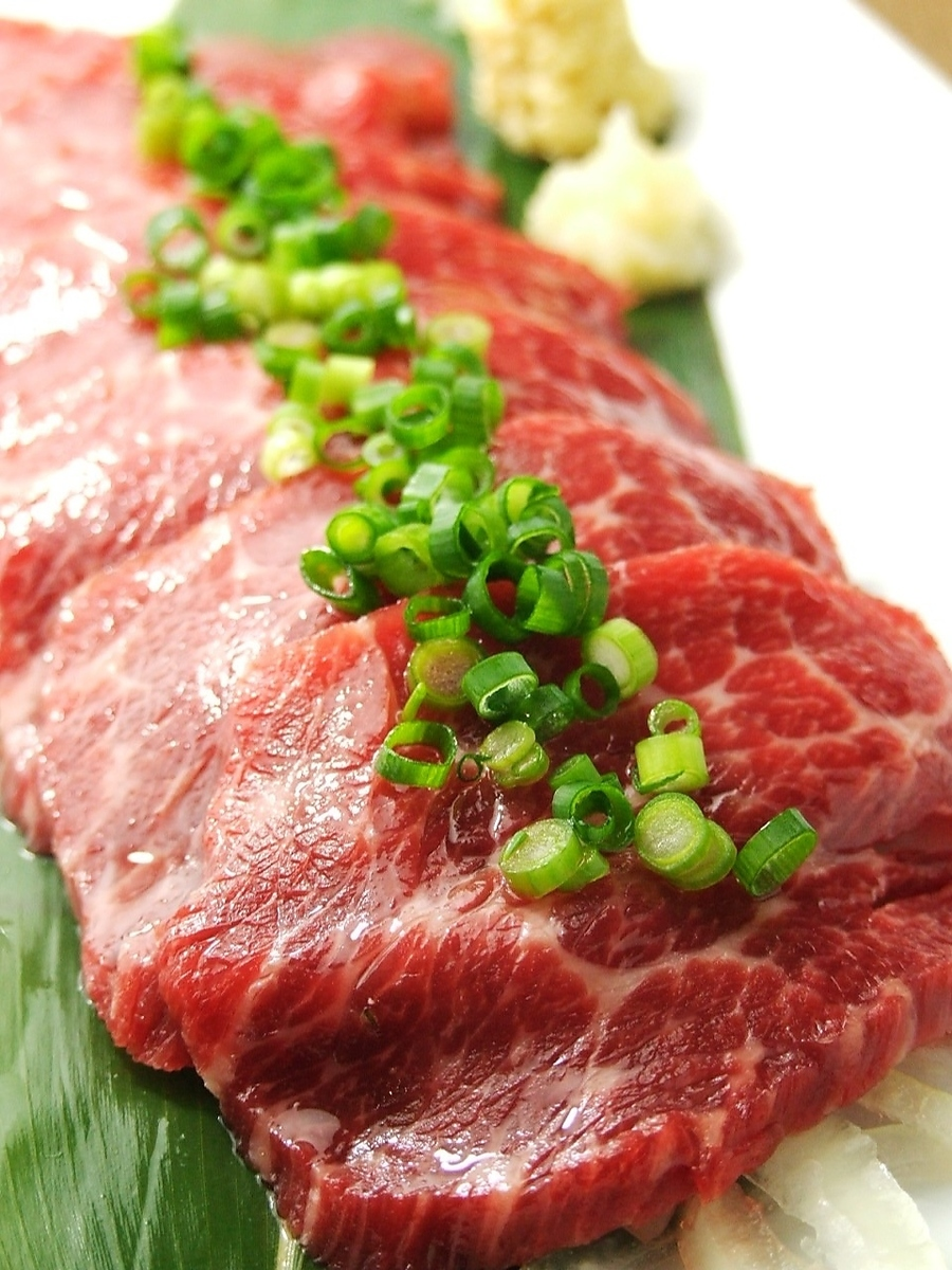 Direct delivery of Kumamoto! Exquisite horse sting!
