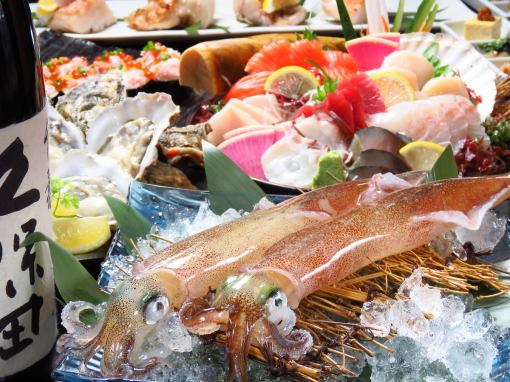 十二月有限的Okinoshi牡蛎/生鱼片8分·马刺【用5000日元喝120分钟】