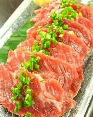 The highest quality horse sashimi, delivered directly from the home of horse meat Kumamoto