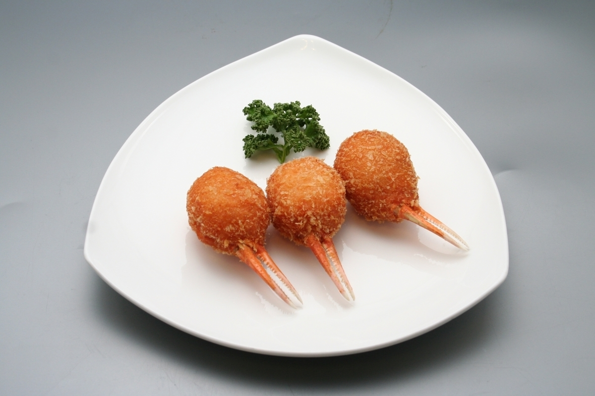 Crab claw and fried shrimp fried (1 bottle)