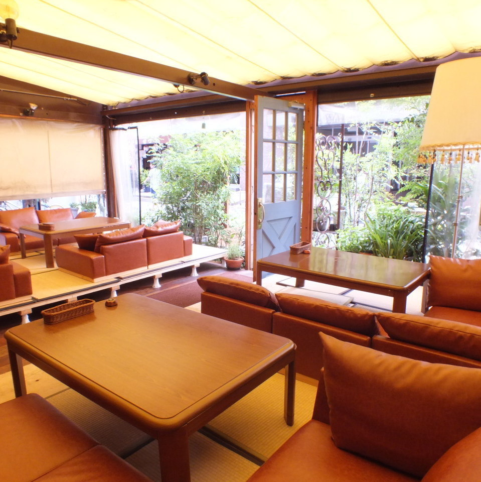 ★ ★ Summer Limited ★ Tatami is comfortable in a comfortable bed and relax relaxingly with western style loose sofa ... ♪ It is a healing space that you can not taste at other ♪