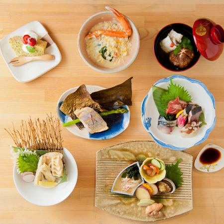 "Luxurious cuisine sticking to chefs ""Luxury course"" ◇ ◆ 2800 yen ◇ ◆ + 1500 yen drinking with fire"