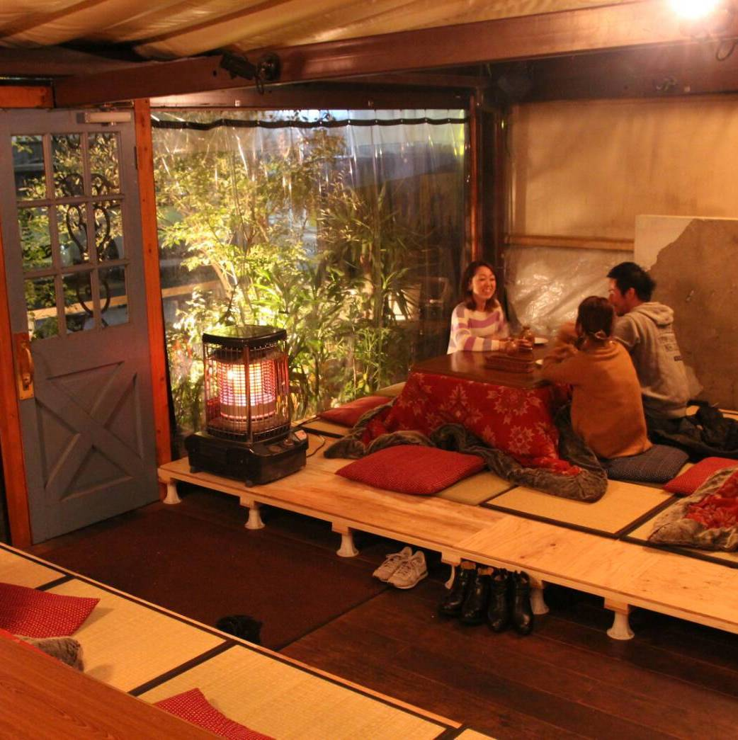 Winter was there or Kotatsu seat ★