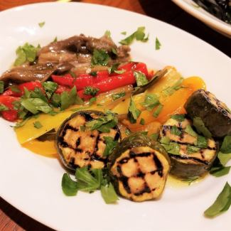 焼き野菜のマリネ