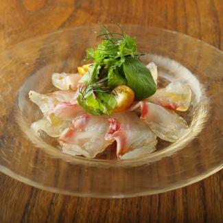 市場直送!魚介類の前菜盛り合わせ(3種・5種)
