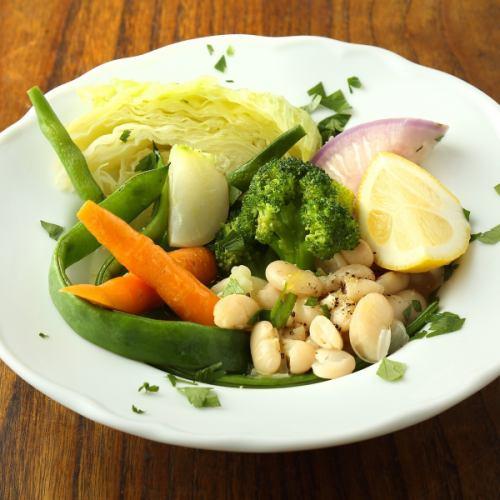 季節野菜のヴァポーレ