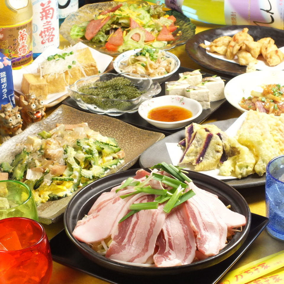 Popular all-you-can-eat courses & fulfilling all-you-can-drink course ☆