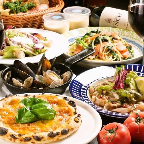 自慢の料理がリーズナブルに堪能できるイタリアンバル♪