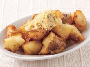 フライドポテトチーズソース