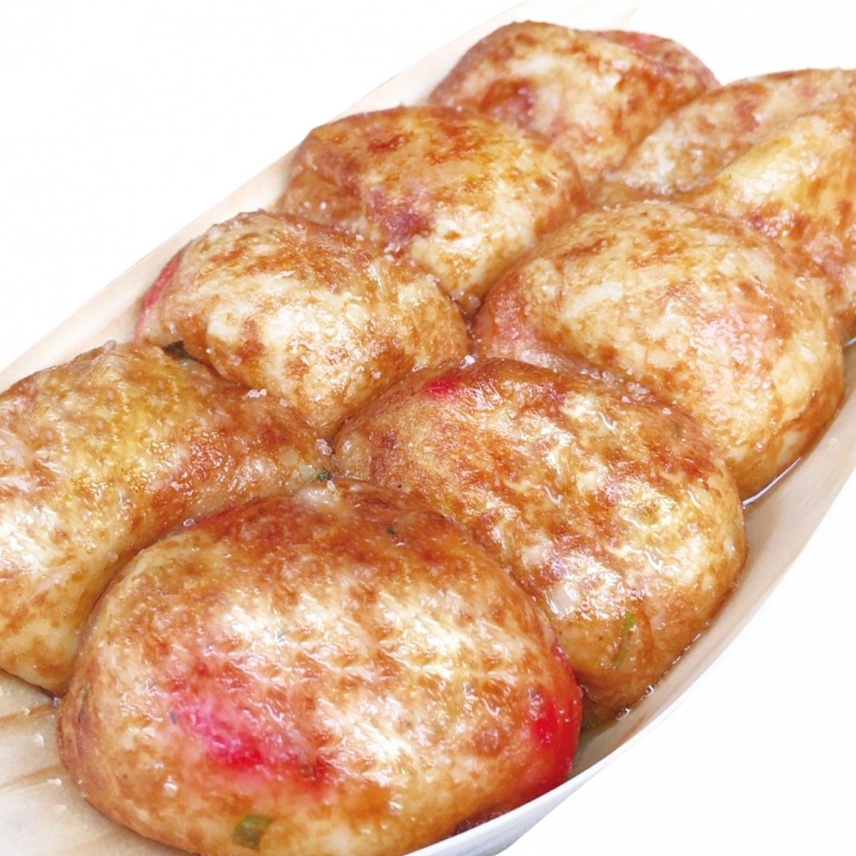 Salt truffle Takoyaki