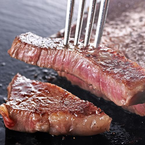 Aged roast steak 120g + buffet set