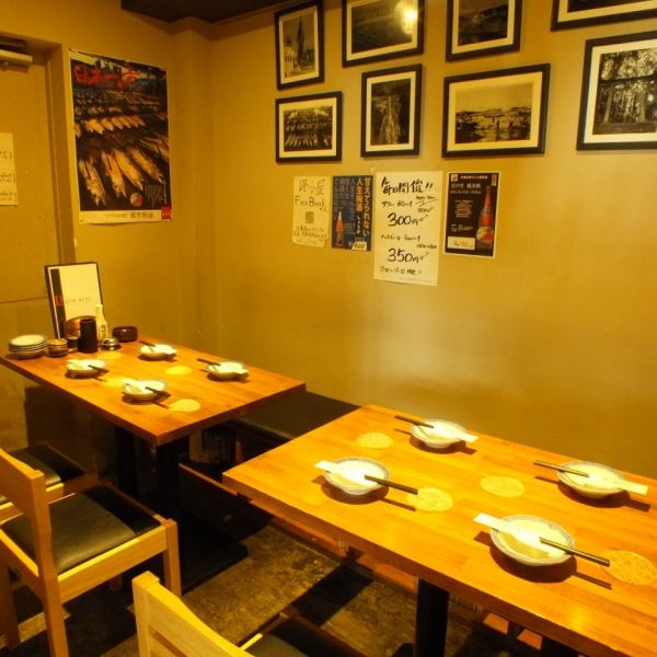 【8名個室】プチ宴会に最適な個室もご用意♪歓送迎会のご予約はお早めに!宴会コース3500円~ございます!当日予約も承ります!