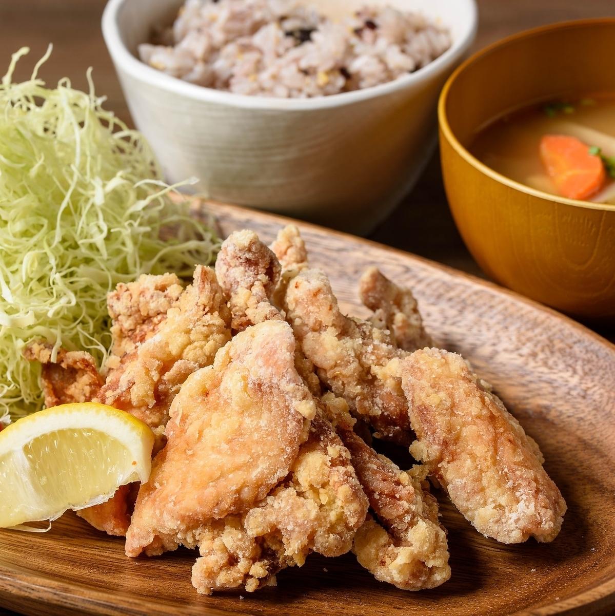 나카츠 튀김 점심