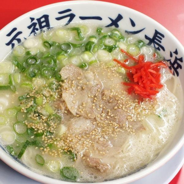 猪骨拉面(原长浜店,长滨家)