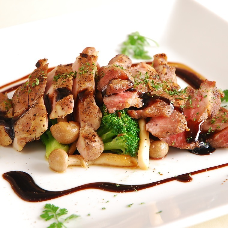 Iberico pork grill ~ Commitment vegetables together ~