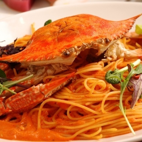 ~ Special ~ whole cotton crab whole one rich tomato cream sauce