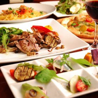 享受牛肉和火鍋♪★禪宗零套餐★每人3500日元*含稅2人〜