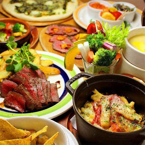 【Bonenkai and Banquet ◎】 Enjoy vegetable dishes and meat ♪ Betty Roca Farmers' Course <90 minutes drink all you can eat> 10 items 4500 yen