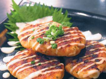 紫苏风味肉丸伯格