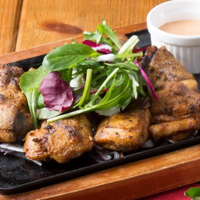 唐杜里烤雞肉